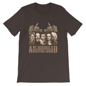 My Research is Ancestor Guided T-Shirt