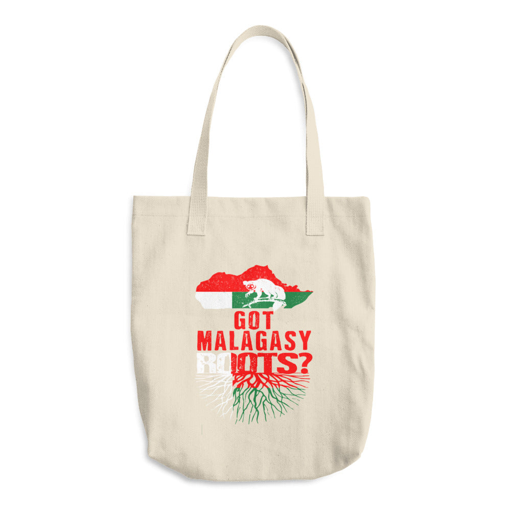 Got Malagasy Roots Bull Denim Woven Cotton Tote Bag
