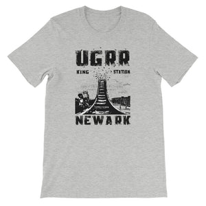 Underground Railroad (UGRR) Newark King Station Tracks T-Shirt