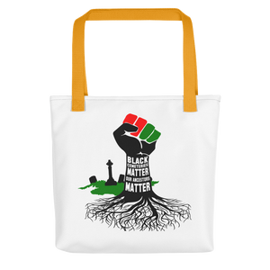 Black Cemeteries Matter Tote bag
