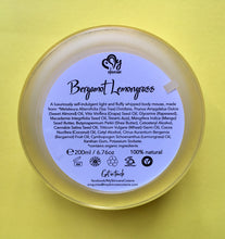 Bergamot Lemongrass Body Mousse