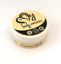 cinnamon vanilla body mousse