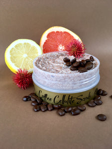 coffee cellulite body scrub