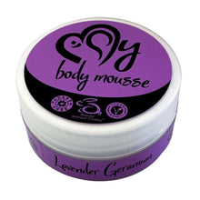 My Lavender Geranium Body Mousse