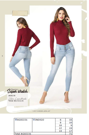 Super Stretch Denim Jean