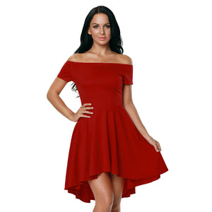 Womens Rage Party Dress - Red