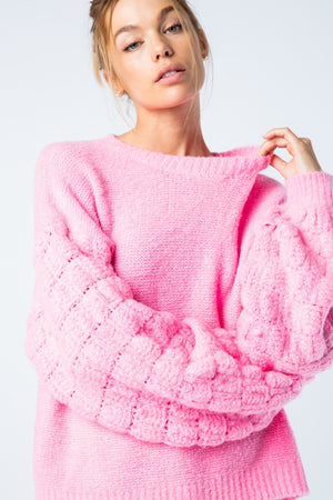 Pink &Merci Sweater