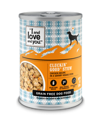 I and Love and You Grain Free Clucking Good Stew Canned Dog Food