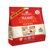 Stella & Chewy's Freeze Dried Raw Grass Fed Beef Meal Mixer SuperBlends Grain Free Dog Food Topper