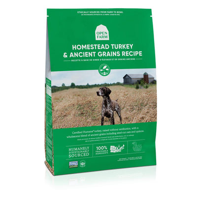 Homestead Turkey & Ancient Grains Dog Food