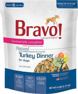 Bravo! Homestyle Complete Natural Turkey Dinner