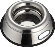 Indipets Stainless Steel Splash Free Pet Dish