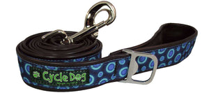 6 Ft Cycle Dog Blue Space Dots Leash