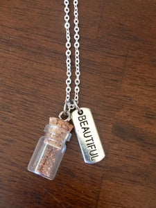"Silver ""Plant a Seed"" Necklace - BEAUTIFUL"
