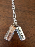 "Silver ""Plant a Seed"" Necklace - FEARLESS"