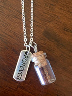 "Silver ""Plant a Seed"" Necklace - FOREVER"