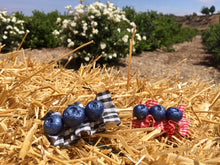 Blueberry Hair Clip - Large