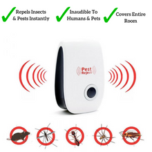 Pest Reject™ The Ultrasonic Insect & Pest Repeller