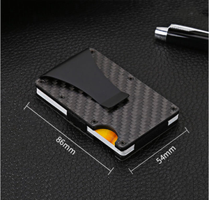 Wallight™ Carbon Fiber RFID Blocking Technology Money Clip Wallet