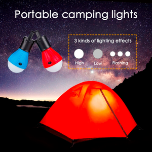 Camp Hero™ The Waterproof Weather Resistant Hanging Light Bulb