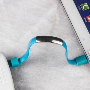 iPhone Charging Bracelet Lighting to USB For For iPhone X 8 7 6s Plus 5 5S SE IPAD Mini Air 2 iPod touch 5th 6th Gen