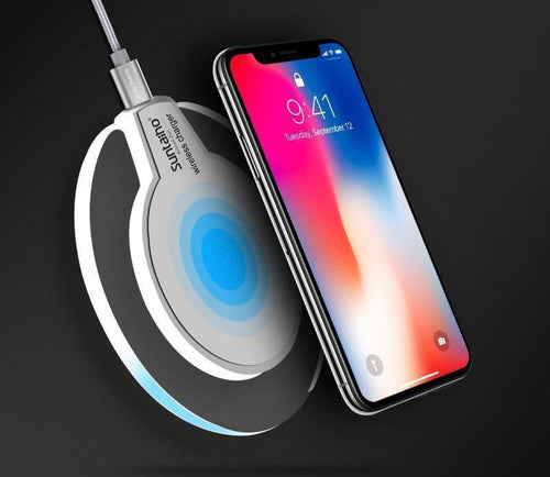 Wireless Fast Charging Qi Charger For iPhones 8 / 8 Plus & iPhone X
