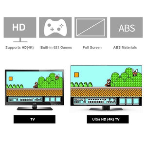 HDMI 621 Games Childhood Retro Mini Classic 4K TV HDMI 8 Bit Video Game Console Handheld Gaming Player