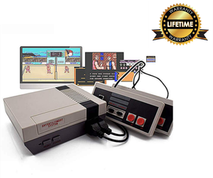 NES Retro Gaming Console With Lifetime Warranty