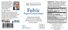 Fulvic Super-Concentrate Liquid
