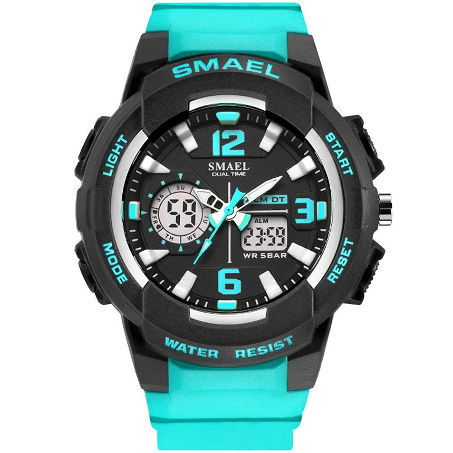 products us pdpzoom stain watches analog en stainless steel aemresponsive digital watch main black sku nate fossil