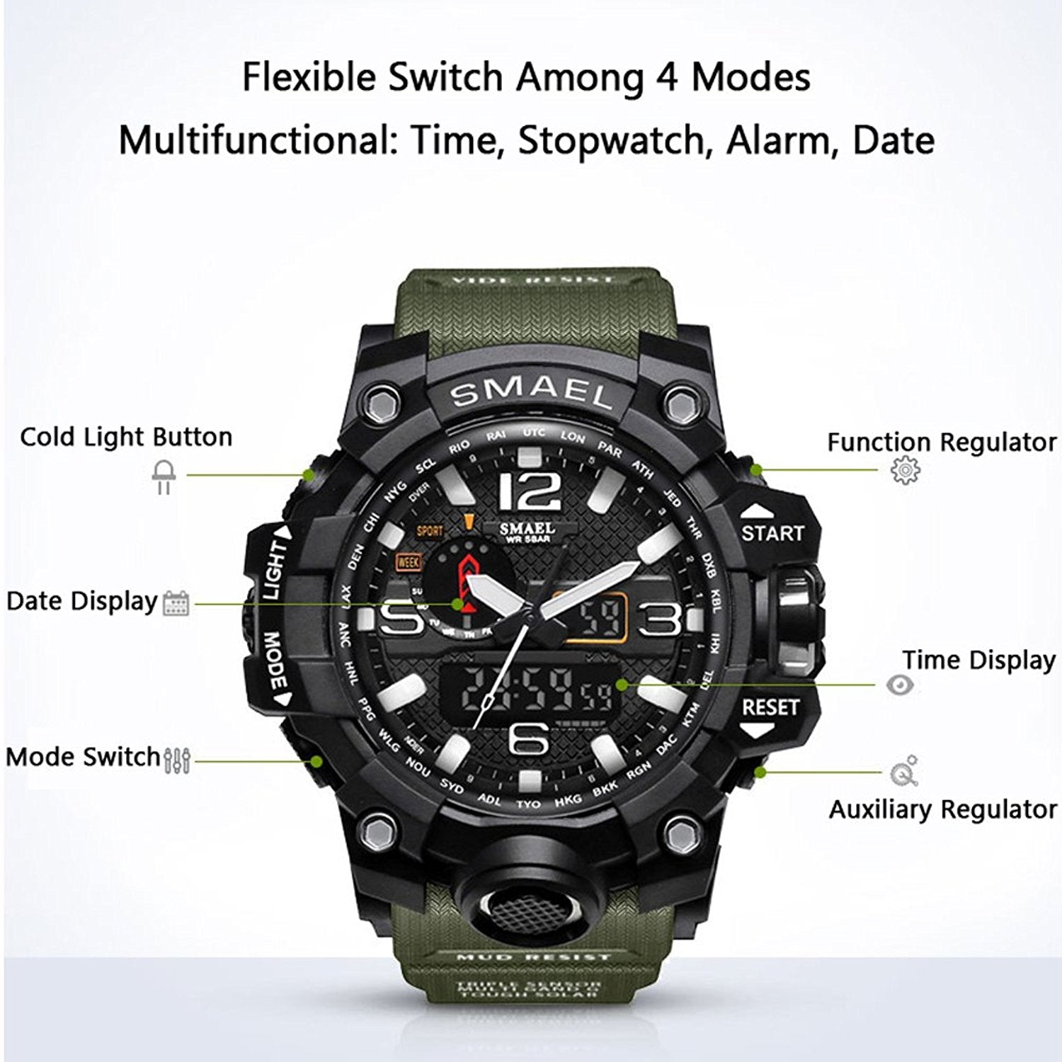 international men sports static collections watch watches red for products