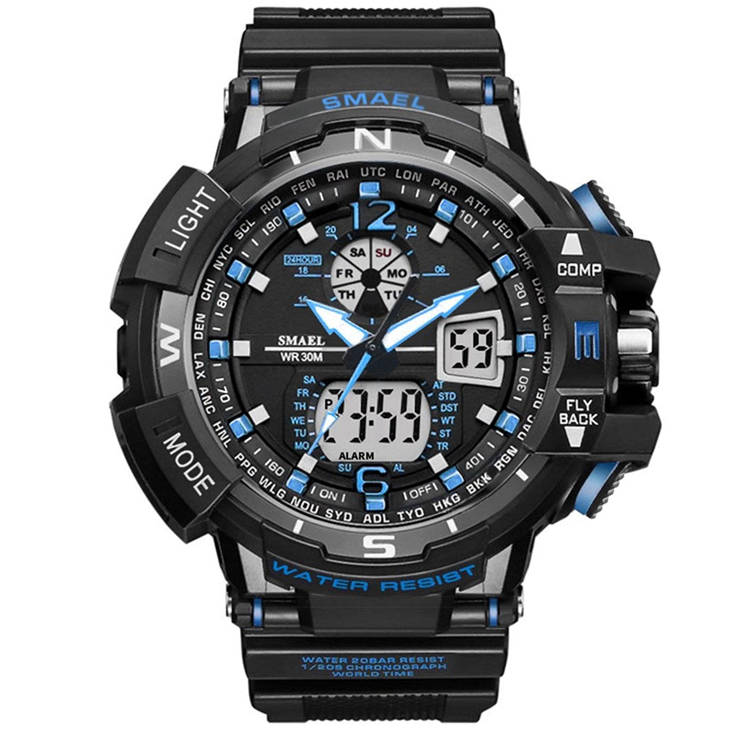 analog watch digital watches mens steel casio stainless aw
