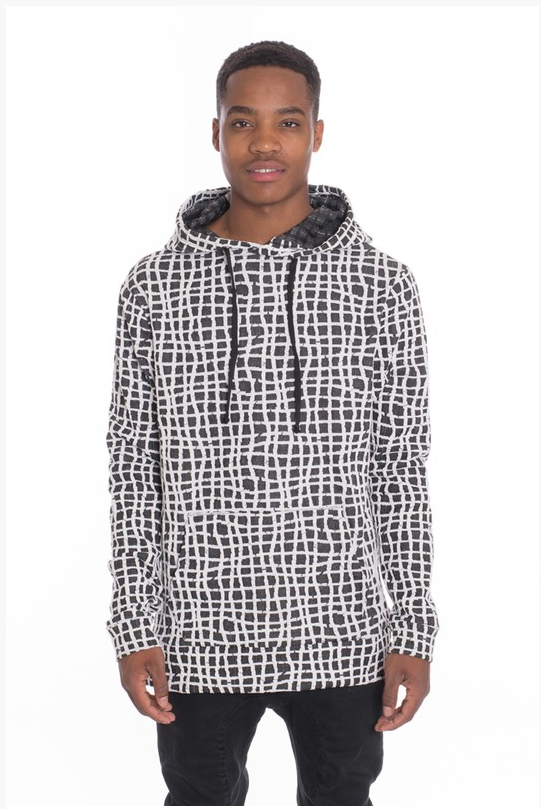 Men's BlackOut Casual Pullover Hoodie