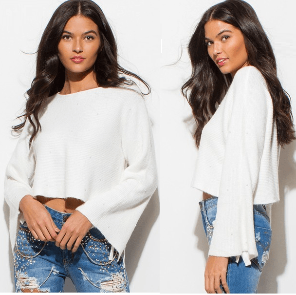 Coco Faux Top - WHITE