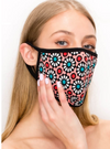 1 Adult UNISEX Face Mask Washable & Reusable - FLORAL