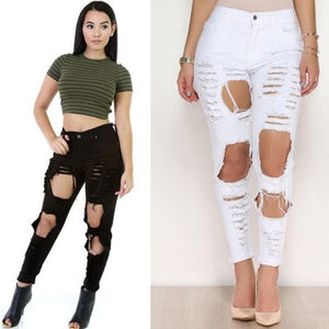 Infamous Ripped Boyfriend Jeans