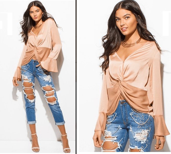 Girly Pop Fizz Top