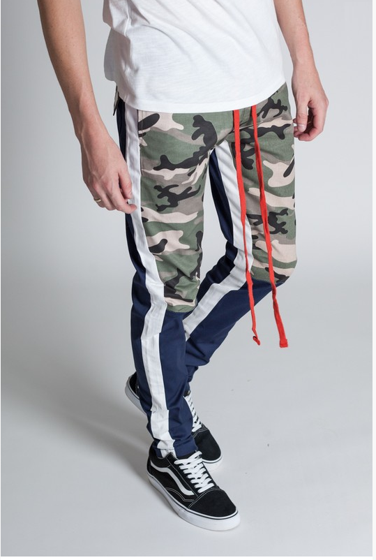 Men's Cargo Pants - Blue