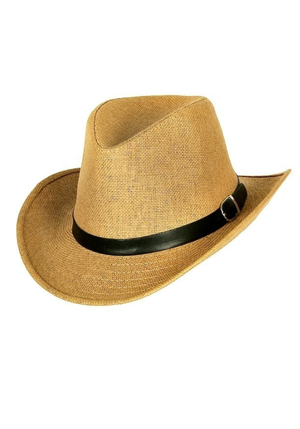 Classic Cowboy Hat - Light Brown