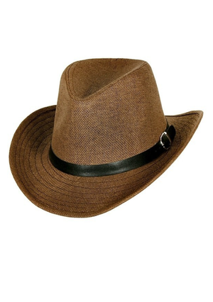 Classic Cowboy Hat - Dark Brown