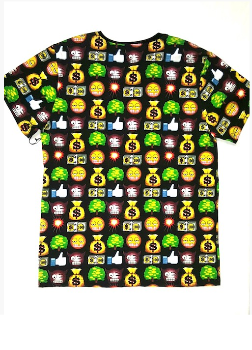 Emoji Tee - (Available in White)