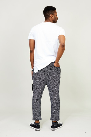 KayDen's French Terry Printed Slouchy Jogger