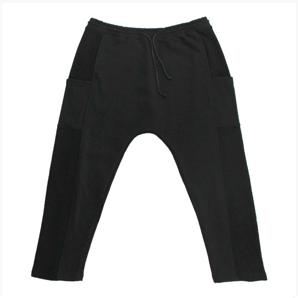 KayDen's French Terry Sweats Jogger (Black)