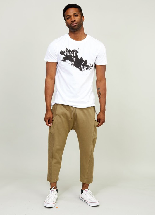 KayDen's French Terry Sweats Jogger (Sand Color)