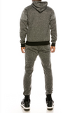 SFBrand DESIGN tracksuit hoodie/super skinny joggers Set - Color Black Stripes
