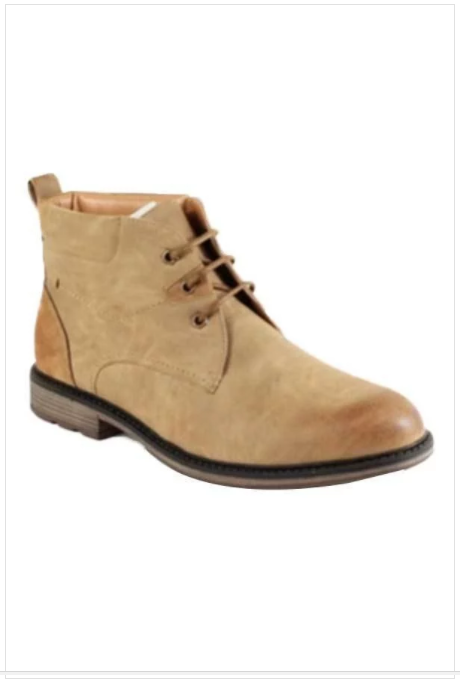 Lace-up Ankle Boots (Khaki)