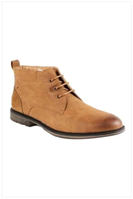 Lace-up Ankle Boots (Camel Tan)