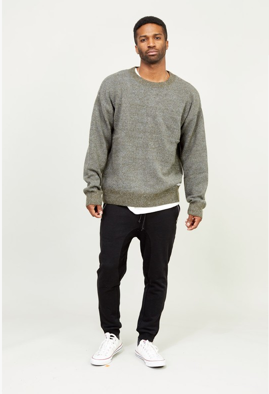 Kayden Jacob's Oversized Wool Blend Sweater