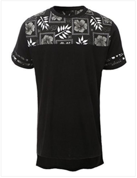 Casual Floral Men's T-Shirt