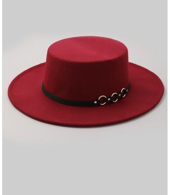 He's Worth It Fedora Style Hat